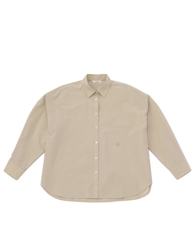 oversized shirts (beige)