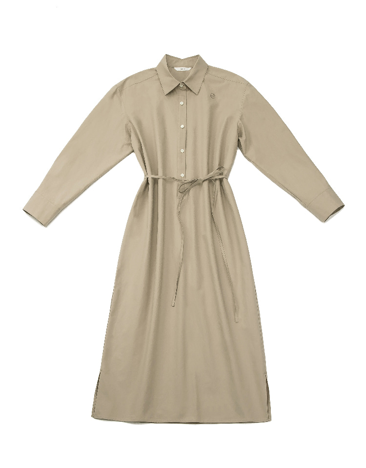shirtdress (brown)