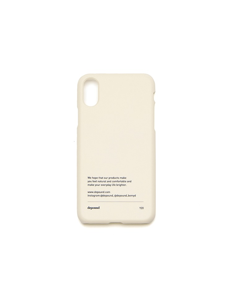 [BE MY D] phonecase (ivory)