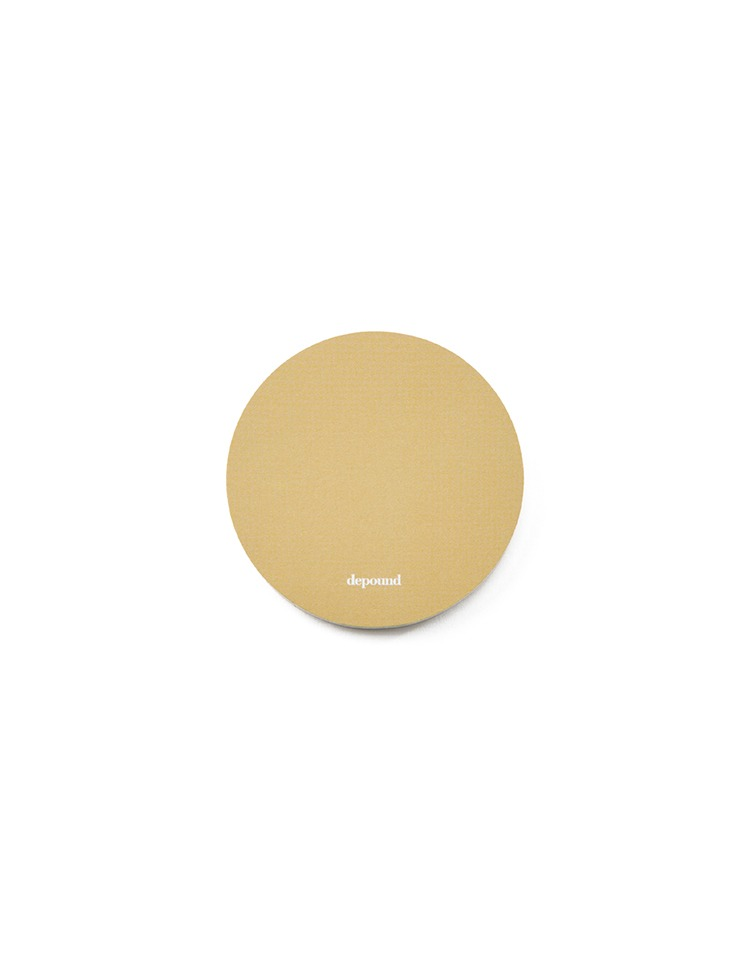 [homepage exclusive]sticky memo pad (brown)