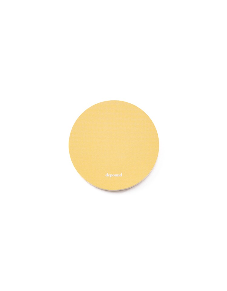 [homepage exclusive]sticky memo pad (yellow)