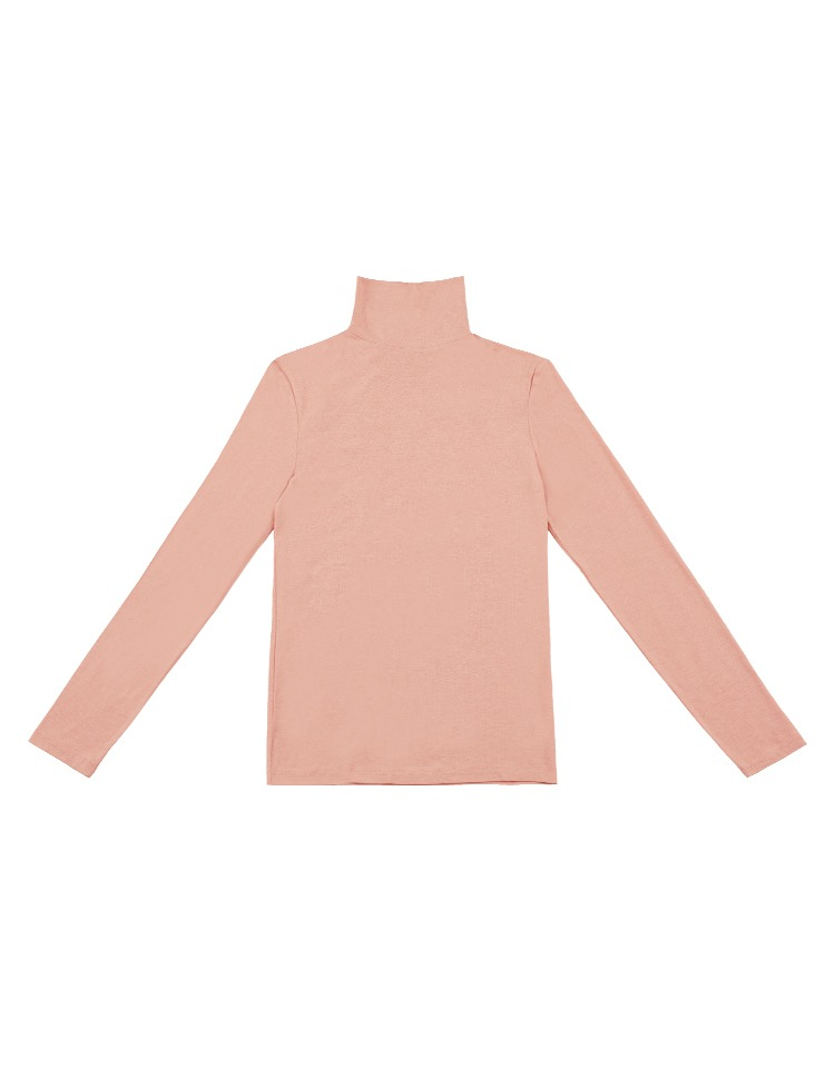 [pink edition]jersey turtleneck (pink)