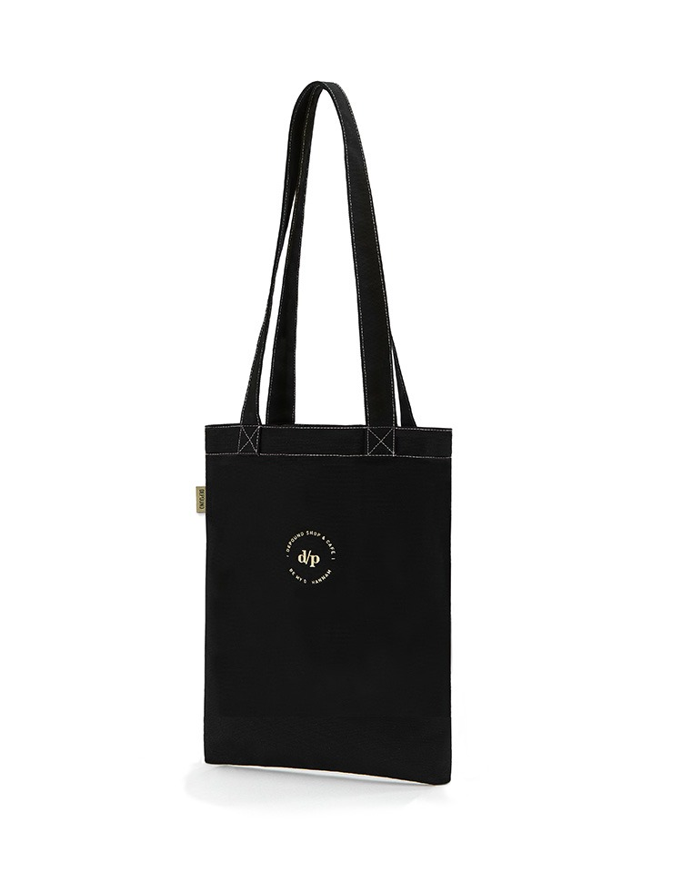 [BE MY D] stitch bag B type (M) - black