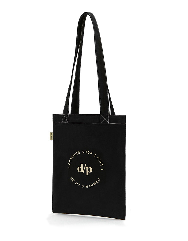 [BE MY D] stitch bag A type (M) - black