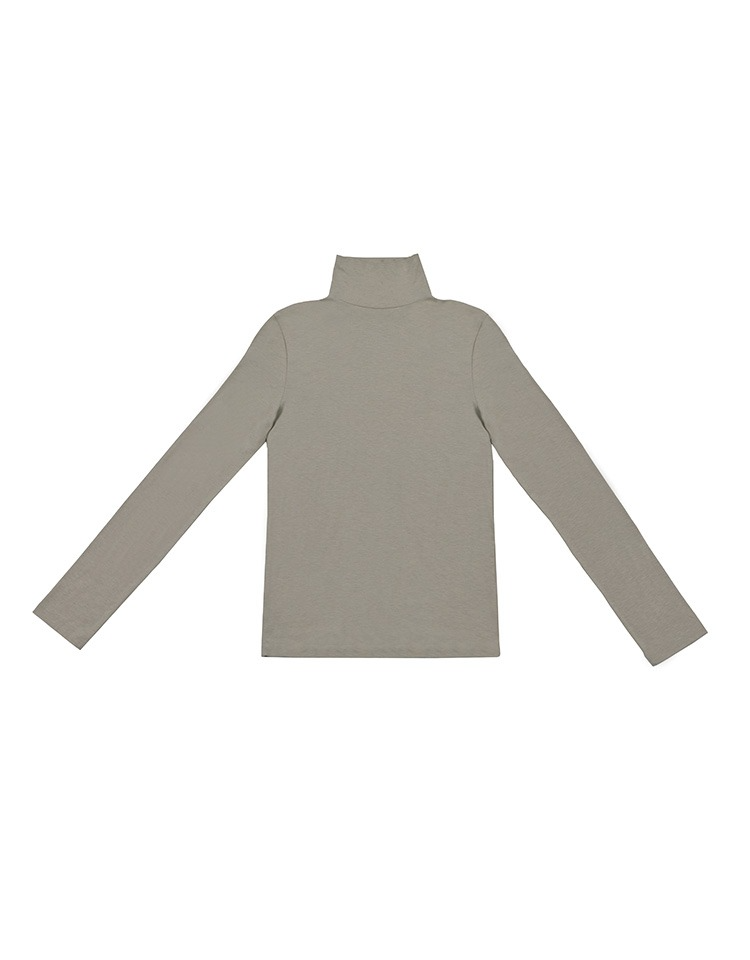 jersey turtleneck (gray)