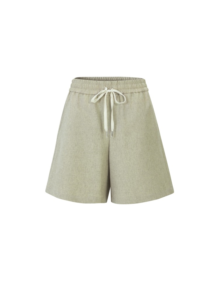 summer shorts - beige