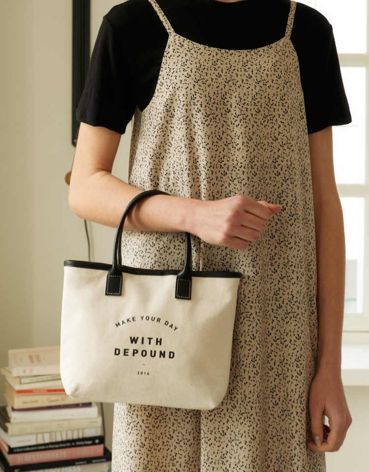 day bag (tote S) - black