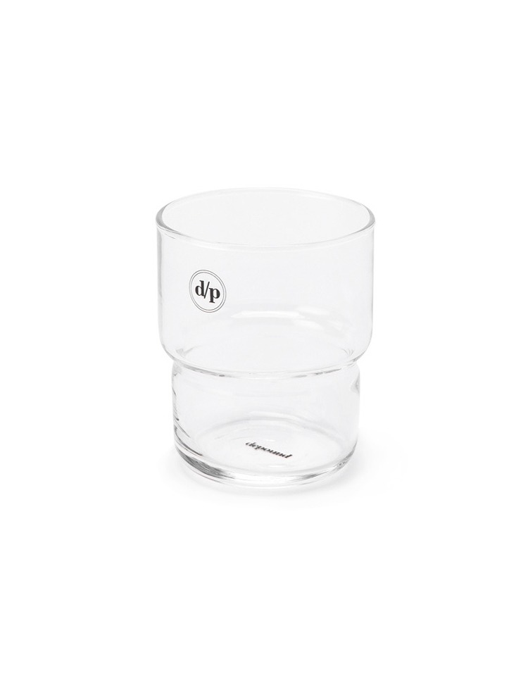 [homepage exclusive]d/p logo glass - black