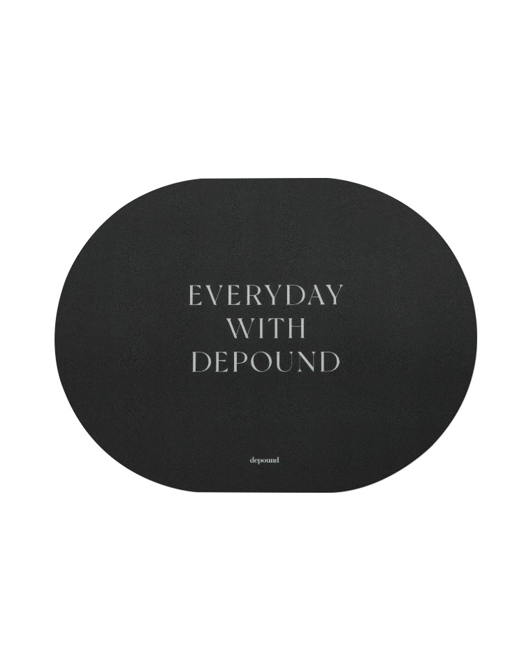 mouse pad (charcoal)