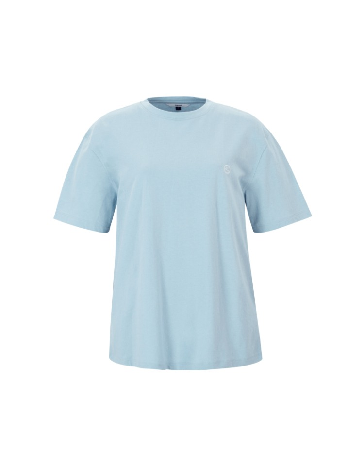 logo t-shirt - skyblue